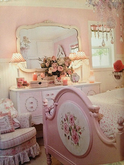 Pinterest image 1601229 by lovely jessy on for Rose decorations for bedroom