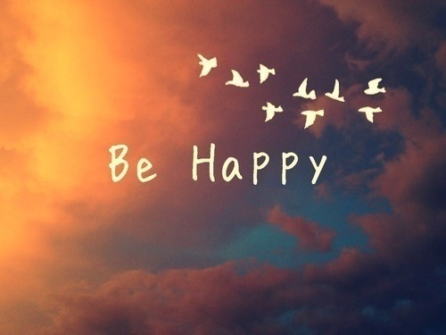 be happy, happy, quote, text