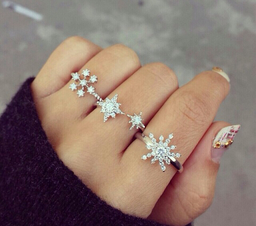 christmas, holiday, jewelry, ring, ringe, rings, snow, snowflake, wedding, winter