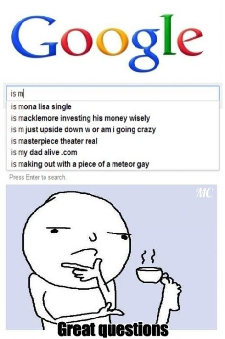 google, lol, meme and great question