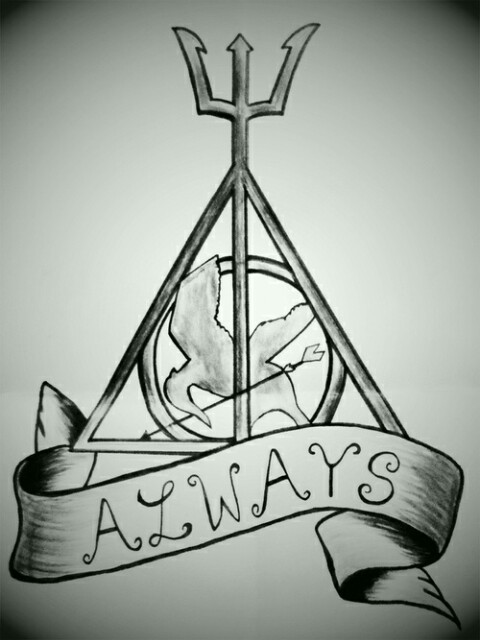 always, demigod, fangirl and harry potter
