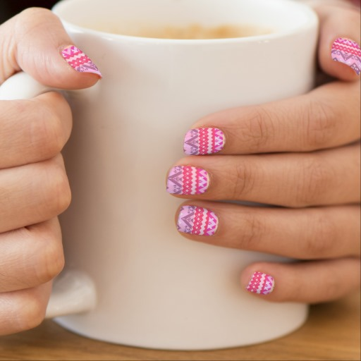 ornaart, pink, girly and nails
