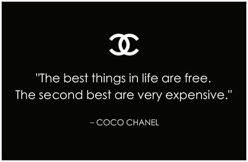 best thing, buy, chanel, coco chanel, drug, expensive, free ...