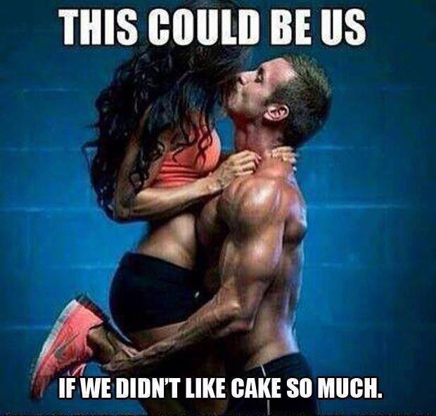 cake, couples, daring and fit
