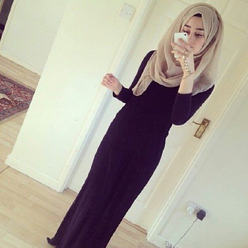 chic, fashion, girl, hijab, style, swag, First Set on Favim.com