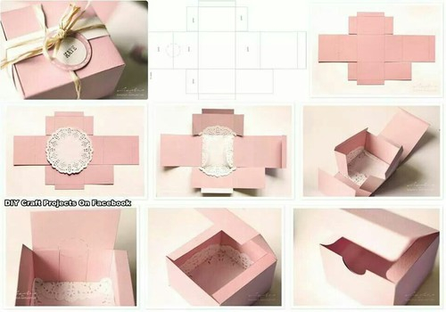 Beutiful Box Diy Do It Yourself Easy Nice Pastel
