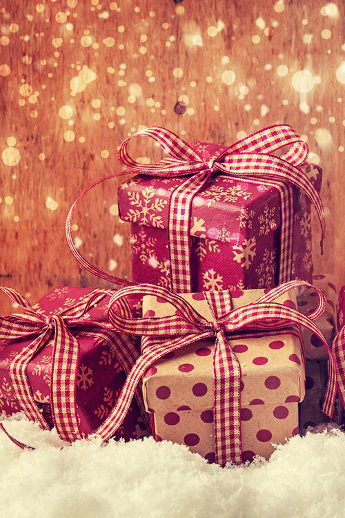 christmas, december, gifts and holiday
