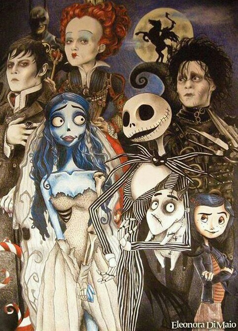 an analysis of the emphasis of the important moments in the movies by tim burton