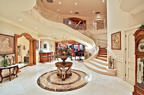 Amazing beautiful decorations expensive house love for Amazing mansions inside