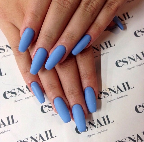 beauty, blog, blue nails and essie