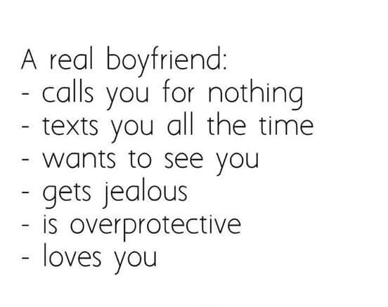 a real boyfriend would quotes - photo #27