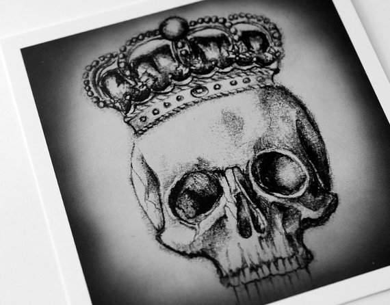 Gothic crown drawing - photo#7