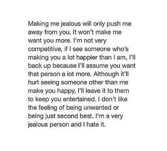 broken, competition, dissapointed, jealous, jealousy, quote, relationship, sad