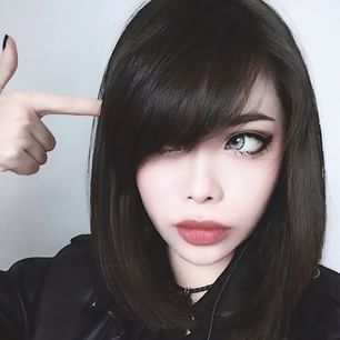 perfect asian goth