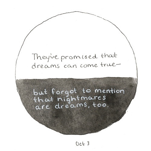 Black And White Depression Draw Dream Dreams Nightmare Promise