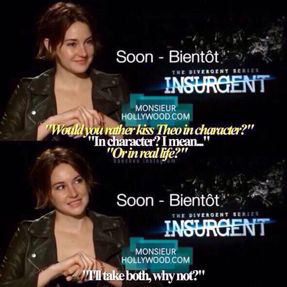 insurgent interview shailene woodley and theo james 2015 relationship