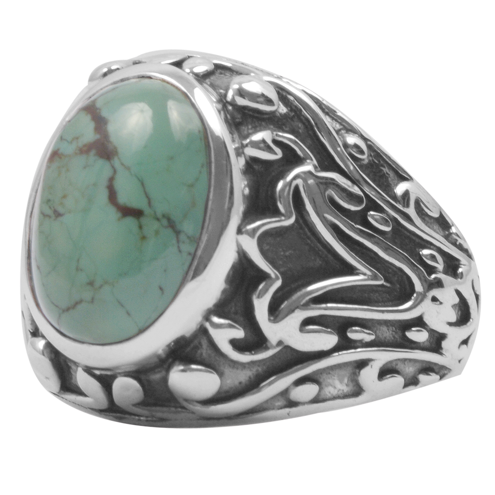 Turquoise Gemstone ring, turquoise silver rings, buy turquoise ring and sterling silver turquoise rings