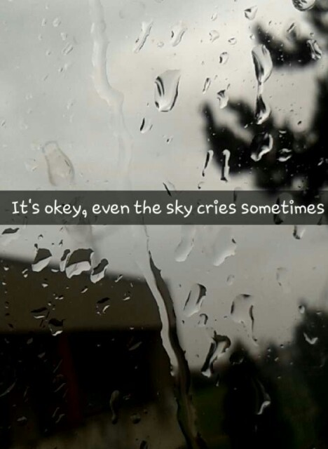 sky cry sad lonely