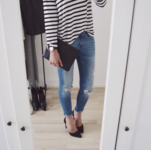 beautiful, casual, clothes and cute