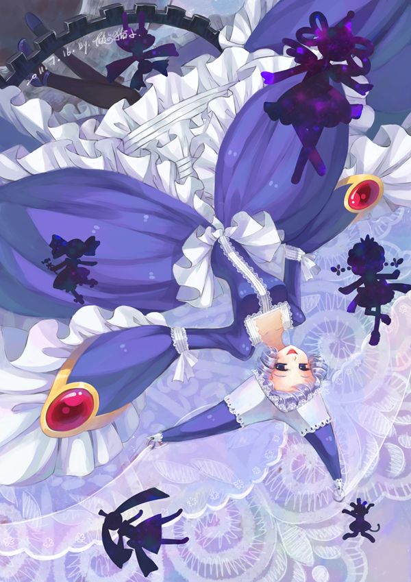 Blue Enemy Madoka Magica And Witch Image 2702145 On Favim Com