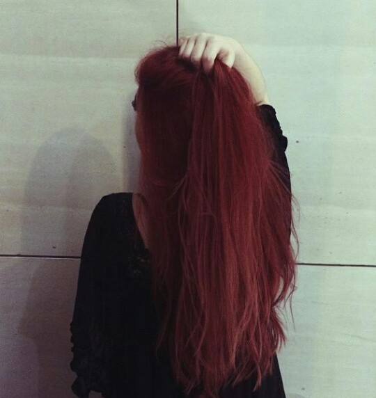 the gallery for gt grunge red hair