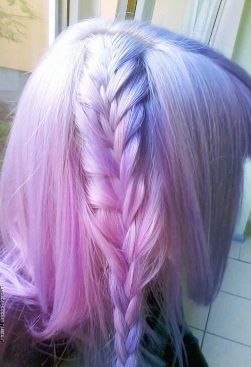 pics for gt pastel pink and purple hair