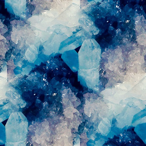 Clouds Crystals Hipster Ice Indie Iphone Wallpaper