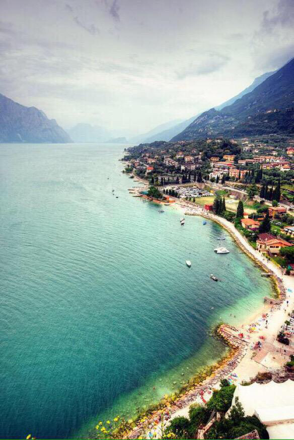 Summer vacation in italy