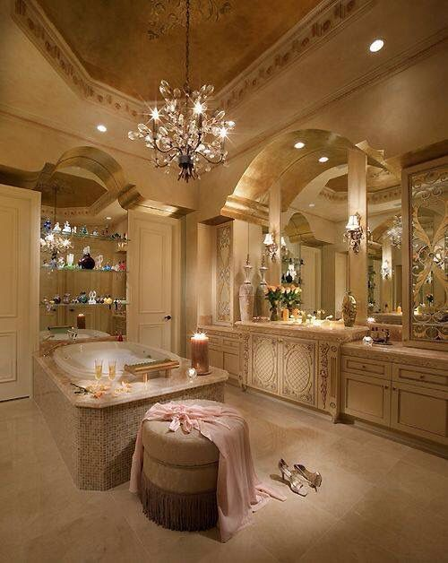 Queen glam dream home pinterest image 2817988 by Beautiful bathrooms and bedrooms magazine
