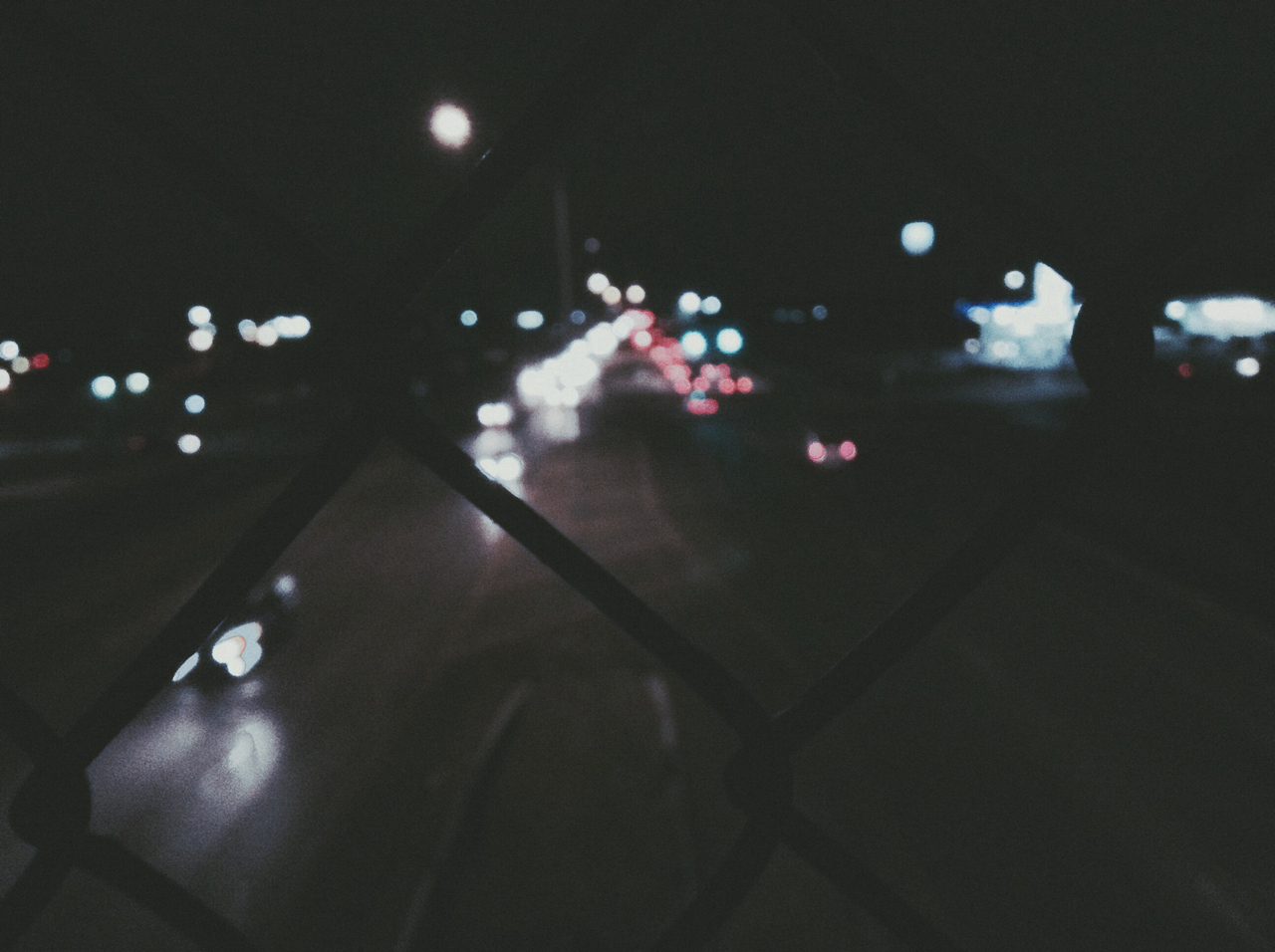 grunge, glow, pale, neon, bokeh, indie, tumblr, white, hippie, cars, cool, lights, photography, urban, rad, black, blue, colors, city lights, midnight