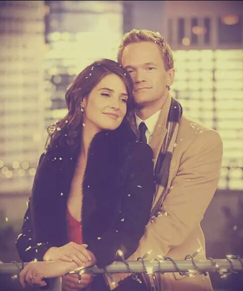 barney, himym, love and robin
