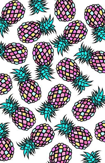 Colorful Pineapple Wallpaper Images