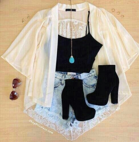 Cardigan Fashion Lifestyle Outfit Shoes Summer