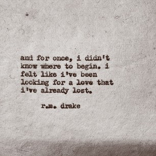 Love Quotes Starting With R : author, begin, broken, lost, love, quote, torn, writer, rmdrake ...