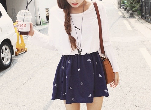 Cute tumblr girl outfits
