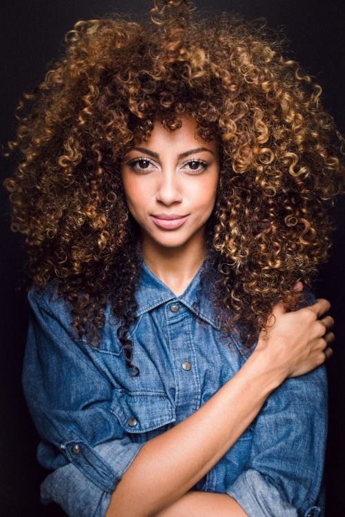 beautiful, big hair, curly and curly hair
