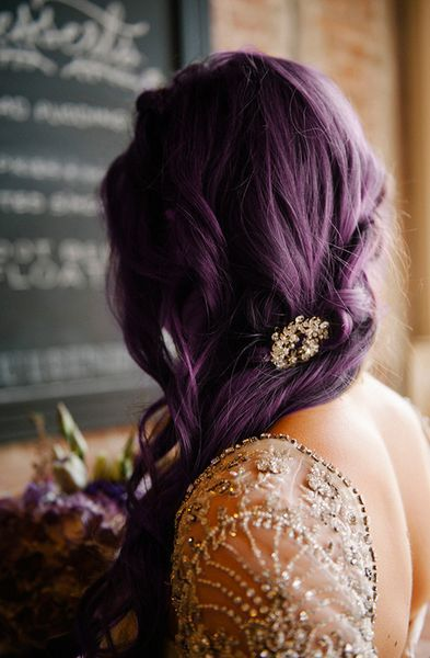 beauty, color hair, fashion and hair