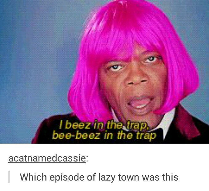 funny, lol, pink hair and tumblr