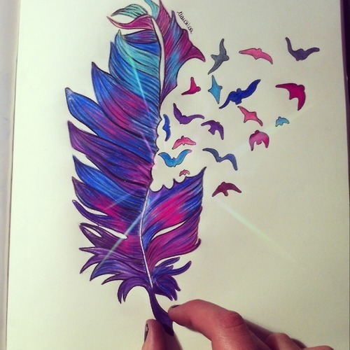 cute colorful drawings tumblr