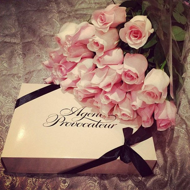agent provocateur, bouquet, girly and luxury