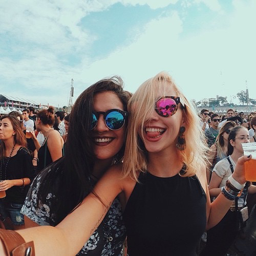 colorful, crazy, fest and friends