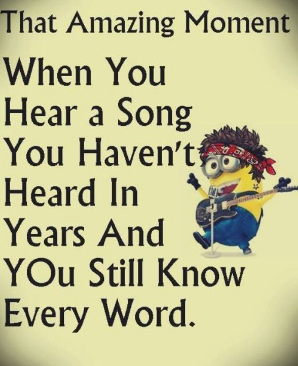 funny quotes, lol, minion, relatable, singing - image ...