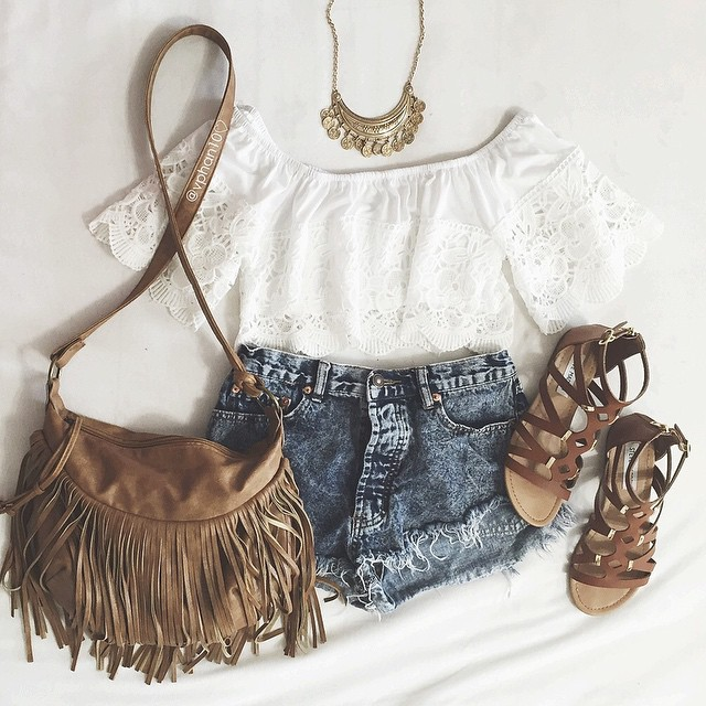 39404d839f02 Oh ThAt BaG Love this outfit Lace peasant - image  3006005 by olga b ...