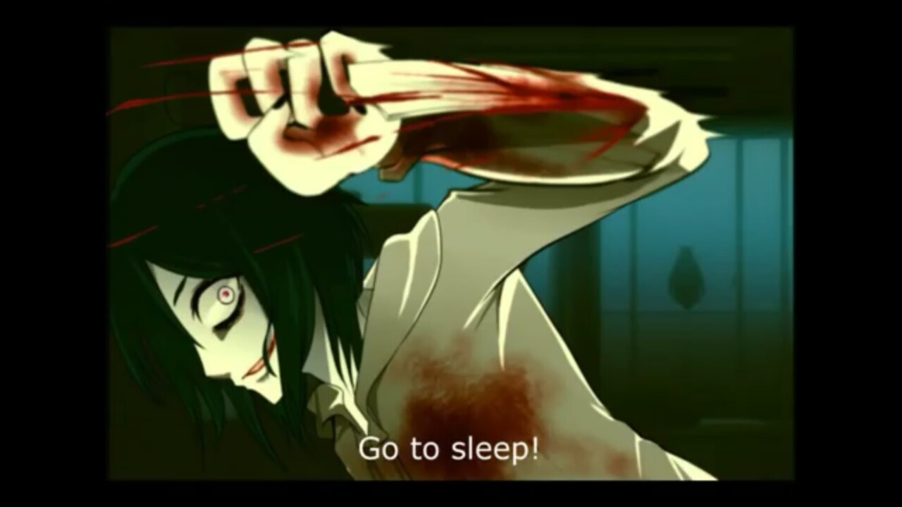 no thanks jeff lol I decided to try out jeff the killer by blackboxtv which is awesome and i can't wait for whats to come  of all the people to do reaction video for, why was it jeff t^t because you guys wanted it xd thank you niomi sanchez for the request my brothers reacting to jeff the ghost killer lol.