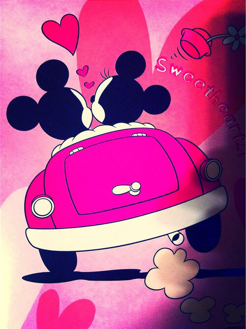 always love mickey minnie together image 3067758 by helena888 on. Black Bedroom Furniture Sets. Home Design Ideas