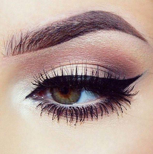 brow, eye, lashes and makeup