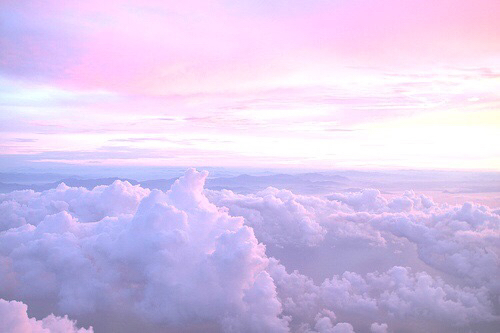 clouds, colorful, grunge, hipster, indie, pale, pastel ...