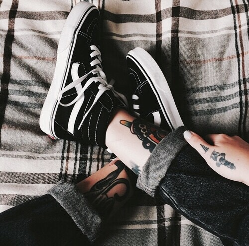 vans and tattoos tumblr