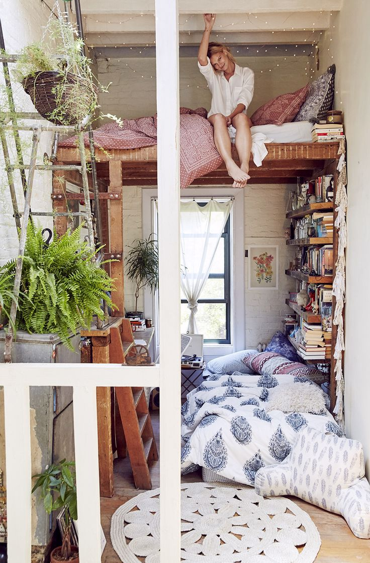 apartment, bedroom design, bedroom ideas and bohemian