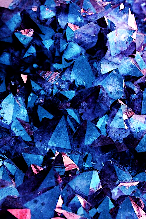 Background Black And White Blue Colors Crystals Dark